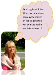 Handen in de haren om niet opgeslagen Word document?